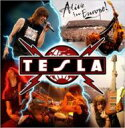 Tesla テスラ / Alive In Europe! 【CD】