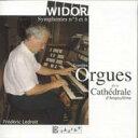 Composer: A Line - ヴィドール(1844-1937) / Organ Symphony, 5, 6, : Ledroit 輸入盤 【CD】