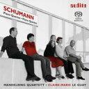 樂天商城 - 【送料無料】 Schumann シューマン / ピアノ五重奏曲、ピアノ四重奏曲 ル・ゲ、マンデルリング四重奏団 輸入盤 【SACD】