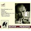 Composer: Ha Line - Prokofiev プロコフィエフ / ピアノ・ソナタ第2番、第9番、他 リヒテル(1961、1979) 輸入盤 【CD】