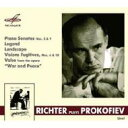 Instrumental Music - Prokofiev プロコフィエフ / ピアノ・ソナタ第2番、第9番、他 リヒテル(1961、1979) 輸入盤 【CD】