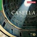 作曲家名: Ka行 - 【送料無料】 Casella カゼッラ / 交響曲第2番、スカルラッティアーナ ノセダ&BBCフィル、ロスコー 輸入盤 【CD】