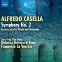 Composer: Ka Line - Casella カゼッラ / 交響曲第2番、ピアノとオーケストラのための『深夜に』 ラ・ヴェッキア&ローマ交響楽団、ユ・ソンヒ 輸入盤 【CD】