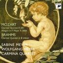 作曲家名: Ma行 - Mozart/Brahms / Clarinet Quintet: S.meyer W.meyer(Cl) Carmina Q 【CD】
