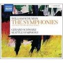 Composer: Sa Line - 【送料無料】 Schuman William シューマン / 交響曲第3、4、5、6、7、8、9、10番、管弦楽曲集 シュウォーツ&シアトル響(5CD) 輸入盤 【CD】