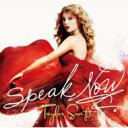 艺人名: T - 【送料無料】 Taylor Swift テイラースウィフト / Speak Now 【デラックス・エディション】 【CD】