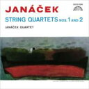Janacek ヤナーチェク / 弦楽四重奏曲第1番、第2番 ヤナーチェク四重奏団 【CD】