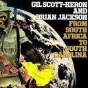 艺人名: G - Gil Scott Heron/Brian Jackson ギルスコットヘロン/ブライアンジャクソン / From South Africa To South Carolina 輸入盤 【CD】