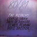 【送料無料】 Pat Metheny パットメセニー / 80 / 81 (180g ) 【LP】