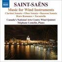 Composer: Sa Line - Saint-Saens サン=サーンス / 管楽器のための室内楽作品集 カナダ・ナショナル・アーツ・センター管楽五重奏団、ルムラン 輸入盤 【CD】