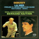 Composer: Ta Line - 【送料無料】 Debussy ドビュッシー / 交響詩『海』、夜想曲、牧神の午後への前奏曲、イベリア ハイティンク&コンセルトヘボウ管弦楽団(シングルレイヤー)(限定盤) 【SACD】
