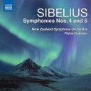作曲家名: Sa行 - Sibelius シベリウス / 交響曲第4番、第5番 インキネン&ニュージーランド交響楽団 輸入盤 【CD】