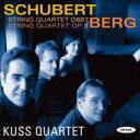 【送料無料】 Schubert シューベルト / シューベルト:弦楽四重奏曲第15番、ベルク:弦楽四重奏曲 クス四重奏団 輸入盤 【CD】