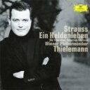 Strauss, R. シュトラウス / 交響詩『英雄の生涯』、交響的幻想曲『影のない女』 ティーレマン&ウィーン・フィル 【SHM-CD】