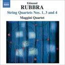作曲家名: Ra行 - ラッブラ、エドマンド(1901-1986) / 弦楽四重奏曲第1番、第3番、第4番 マッジーニ四重奏団 輸入盤 【CD】