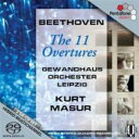 Composer: Ha Line - 【送料無料】 Beethoven ベートーヴェン / 序曲全集 マズア&ライプツィヒ・ゲヴァントハウス管弦楽団(2SACD) 輸入盤 【SACD】