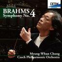 作曲家名: Ha行 - 【送料無料】 Brahms ブラームス / 交響曲第4番 チョン・ミョンフン&チェコ・フィル(2011) 【CD】