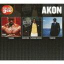 艺人名: A - 【送料無料】 Akon エイコン / Trouble / Konvicted - Platinum Edition / Freedom + 2 【CD】