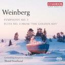 作曲家名: A行 - 【送料無料】 Vainberg バインベルグ / 交響曲第3番、『黄金の鍵』組曲第4番 スヴェドルンド&エーテボリ交響楽団 輸入盤 【SACD】