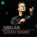 Sibelius シベリウス / 交響曲第2番&第4番 オラモ&バーミンガム市交響楽団 【CD】