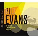 Artist Name: B - 【送料無料】 Bill Evans (Piano) ビルエバンス / Riverside & Milestone Albums 1956-1963 (15CD) 輸入盤 【CD】