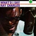 Ray Charles レイチャールズ / What'd I Say (180グラム重量盤) 【LP】