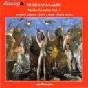 作曲家名: Ra行 - Langgaard ランゴー / ヴァイオリン・ソナタ第1番/第2番 アジジアン/エラン 輸入盤 【CD】