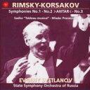 Composer: Ra Line - Rimsky-korsakov リムスキー=コルサコフ / Comp.symphonies, Orchestra Works: Svetlanov / Russian State.so 【CD】