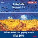 Composer: Ra Line - 【送料無料】 Langgaard ランゴー / ランゴー:交響曲第4〜6番 N・ヤルヴィ/デンマーク国立放送SO 輸入盤 【CD】