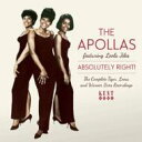 Apollas / Absolutely Right! Complete Tiger, Loma And Warner Bros Recordin 輸入盤 【CD】