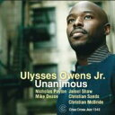 Artist Name: U - Ulysses Owens Jr / Unanimous 輸入盤 【CD】