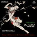 Composer: Sa Line - 【送料無料】 Stravinsky ストラビンスキー / 『火の鳥』全曲、編曲集(チャイコフスキー、シベリウス、ショパン) リットン&ベルゲン・フィル 輸入盤 【SACD】