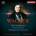 作曲家名: Wa行 - 【送料無料】 Wagner ワーグナー / 交響曲ハ長調、交響曲ホ長調、『リエンツィ』序曲、行進曲集 ヤルヴィ&スコティッシュ・ナショナル管弦楽団 輸入盤 【SACD】