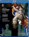 基本情報ジャンルクラシックフォーマットBLU-RAY DISCレーベルAccentus Music発売日2012年05月08日商品番号ACC-10243BD発売国Europe組み枚数1関連キーワード ブルックナー IMPORT ブルーレイ BD BLU-RAY ,5, GSDB 4260234830262 BungeePrice洋楽Blu-ray fmt3出荷目安の詳細はこちら>>楽天市場内検索 『在庫あり』表記について商品説明ブルックナー交響曲第5番アバド&ルツェルン祝祭管2011年ライヴ映像絶好調アバドがルツェルン祝祭管を指揮したブルックナー5番の素晴らしい映像作品がACCENTUS MUSICより登場。2011年8月におこなわれたコンサートの模様を収めたもので、豪華メンバーの名演に終演後はスタンディング・オベーションとなり、この年のルツェルン・フェスティヴァル最高の演奏として話題となったものです。【近年のアバドならではの名演】近年のアバドの芸風には力強いイメージがあります。トレードマークでもある流麗な歌いまわしにも起伏の大きさと重みが加わり、トゥッティでのパワーの解放にも凄みが備わっています。 こまかなバランス操作よりも楽員の自発性を尊重するかのようなその演奏の魅力は、映像作品ではさらに大きな説得力をもって伝わることとなり、ここでも第1楽章集結部でのコントラバスのやる気満々の表情など、楽員のアバドに寄せる共感に満ちた姿勢が見ものともなっています。【ルツェルン祝祭管弦楽団】伝統あるルツェルン音楽祭を活性化するため、アバドを芸術監督に迎えて2003年に刷新されたレジデンス・オーケストラ「ルツェルン祝祭管弦楽団」の運用プランは、アバドが創設に寄与した「グスタフ・マーラー・ユーゲント管」を母体とする「マーラー室内管弦楽団」が中核となるもので、各パートのトップには有名オケの首席奏者など名手が起用されることが多いのも大きな特徴。 今回の演奏では、コンサートマスターに元ベルリン・フィルのコーリャ・ブラッハー、ヴィオラに元ベルリン・フィルのヴォルフラム・クリスト、コントラバスに元ウィーン・フィルのアロイス・ポッシュ、フルートにコンセルトヘボウ管弦楽団のジャック・ゾーン、オーボエにコンセルトヘボウ管弦楽団のルーカス・マシアス・ナヴァロとザビーネ・マイヤー管楽アンサンブルのディートヘルム・ヨーナス、クラリネットにローマ聖チェチーリア国立交響楽団のアレッサンドロ・カルボナーレ、ファゴットにチューリッヒ・トーンハレ管弦楽団のマティアス・ラッツ、ホルンにローマ聖チェチーリア国立交響楽団のアレッシオ・アレグリーニとザビーネ・マイヤー管楽アンサンブルのブルーノ・シュナイダーとチューリッヒ・トーンハレ管弦楽団のイーヴォ・ガス、トランペットに元フランクフルト放送響首席で現在カールスルーエ音楽院教授のラインホルト・フリードリヒ、トロンボーンにコンセルトヘボウ管弦楽団のヨルゲン・ファン・ライエン、チューバにシュターツカペレ・ベルリンのトーマス・ケラー、ティンパニにバイエルン放送交響楽団のレイモンド・カーフスの姿が見えます。【ウィーン・フィル盤との演奏時間比較】アバドは1993年にDGにウィーン・フィルとブルックナーの5番をライヴ録音しており、そこでの演奏もかなり評価の高いものでしたが、今回はそれに較べて第1楽章で18秒、第2楽章で1分5秒、第3楽章で53秒ほど演奏時間が長くなっており、逆に第4楽章では13秒短くなっています。つまり両端楽章ではほぼ同じタイムで、中間2楽章が遅くなったということになりますが、特に第2楽章でのじっくり歌われる主題の美しさには見事なものがありましたし、第3楽章トリオでのゆったりした愉悦の感覚にも近年のアバドならではの心の余裕が感じられるかのようです。(HMV) VPO 19:33+16:33+12:14+23:30=71:50 LFO 19:51+17:38+13:07+23:17=73:53【収録情報】・ブルックナー:交響曲第5番変ロ長調 WAB.105 [ノヴァーク版] ルツェルン祝祭管弦楽団 クラウディオ・アバド(指揮) 収録時期:2011年8月19、20日 収録場所:ルツェルン、カルチャー&コンヴェンション・センター内コンサート・ホール 収録方式:HD(ライヴ)【BD仕様】 収録時間:80分33秒 画面:Full HD 16:9 音声:DTS HD Master Audio / PCMステレオ Region:Allその他のバージョンDVD  ブルックナー (1824-1896) / 交響曲第5番 アバド&ルツェルン祝祭管弦楽団  EUR盤BLU-RAY DISC  ブルックナー (1824-1896) / 交響曲第5番 アバ
