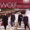 作曲家名: A行 - Wolf ボルフ / 弦楽四重奏曲、間奏曲、イタリア風セレナード クァルテット・プロメテオ 輸入盤 【CD】