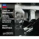 【送料無料】 Beethoven ベートーヴェン / ピアノ協奏曲全集、他 バックハウス、シュミット=イッセルシュテット&ウィーン・フィル(4CD) 輸入盤 【CD】