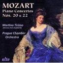 Mozart モーツァルト / Piano Concerto, 20, 22, : Tirimo(P) Prague Co 輸入盤 【CD】