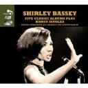 Shirley Bassey シャーリーバッシー / Five Classic Albums Plus 輸入盤 【CD】