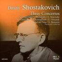 【送料無料】 Shostakovich ショスタコービチ / ヴァイオリン協奏曲第1番(オイストラフ、ムラヴィンスキー指揮)、ピアノ協奏曲第2番(バーンスタイン)、チェロ協奏曲第1番(ロストロポーヴィチ) 輸入盤 【SACD】