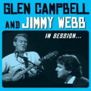 Artist Name: G - Glen Campbell / Jimmy Webb / In Session 輸入盤 【CD】