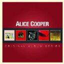 艺人名: A - 【送料無料】 Alice Cooper アリスクーパー / 5cd Original Album Series Box Set 輸入盤 【CD】
