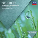 作曲家名: Sa行 - Schubert シューベルト / 即興曲集D.899&935、16のドイツ舞曲D.783 ブレンデル(1972−1974) 輸入盤 【CD】