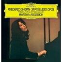 【送料無料】 Chopin ショパン / 前奏曲集:マルタ・アルゲリッチ(ピアノ) (アナログレコード) 【LP】