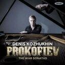 作曲家名: Ha行 - 【送料無料】 Prokofiev プロコフィエフ / 戦争ソナタ集〜ピアノ・ソナタ第6番、第7番、第8番 コジュヒン 輸入盤 【CD】