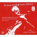 【送料無料】 Bach, Johann Sebastian バッハ / 無伴奏チェロ組曲全曲 ナヴァラ(3SACD) 輸入盤 【SACD】
