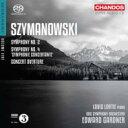 作曲家名: Sa行 - 【送料無料】 Szymanowski シマノフスキ / 交響曲第4番『協奏交響曲』、第2番、演奏会用序曲 ロルティ、ガードナー&BBC響 輸入盤 【SACD】