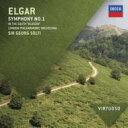 Elgar エルガー / 交響曲第1番、序曲『南国にて』 ショルティ&ロンドン・フィル 輸入盤 【CD】
