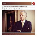 【送料無料】 Sibelius シベリウス / 交響曲全集、管弦楽曲集 デイヴィス&ロンドン交響楽団(7CD) 輸入盤 【CD】