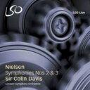 Composer: Na Line - Nielsen ニールセン / 交響曲第2番『四つの気質』、第3番『ひろがりの交響曲』 C.デイヴィス&ロンドン交響楽団 輸入盤 【SACD】