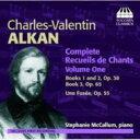 作曲家名: A行 - 【送料無料】 Alkan アルカン / Complete Recueils De Chants Vol.1: Mccallum(P) 輸入盤 【CD】